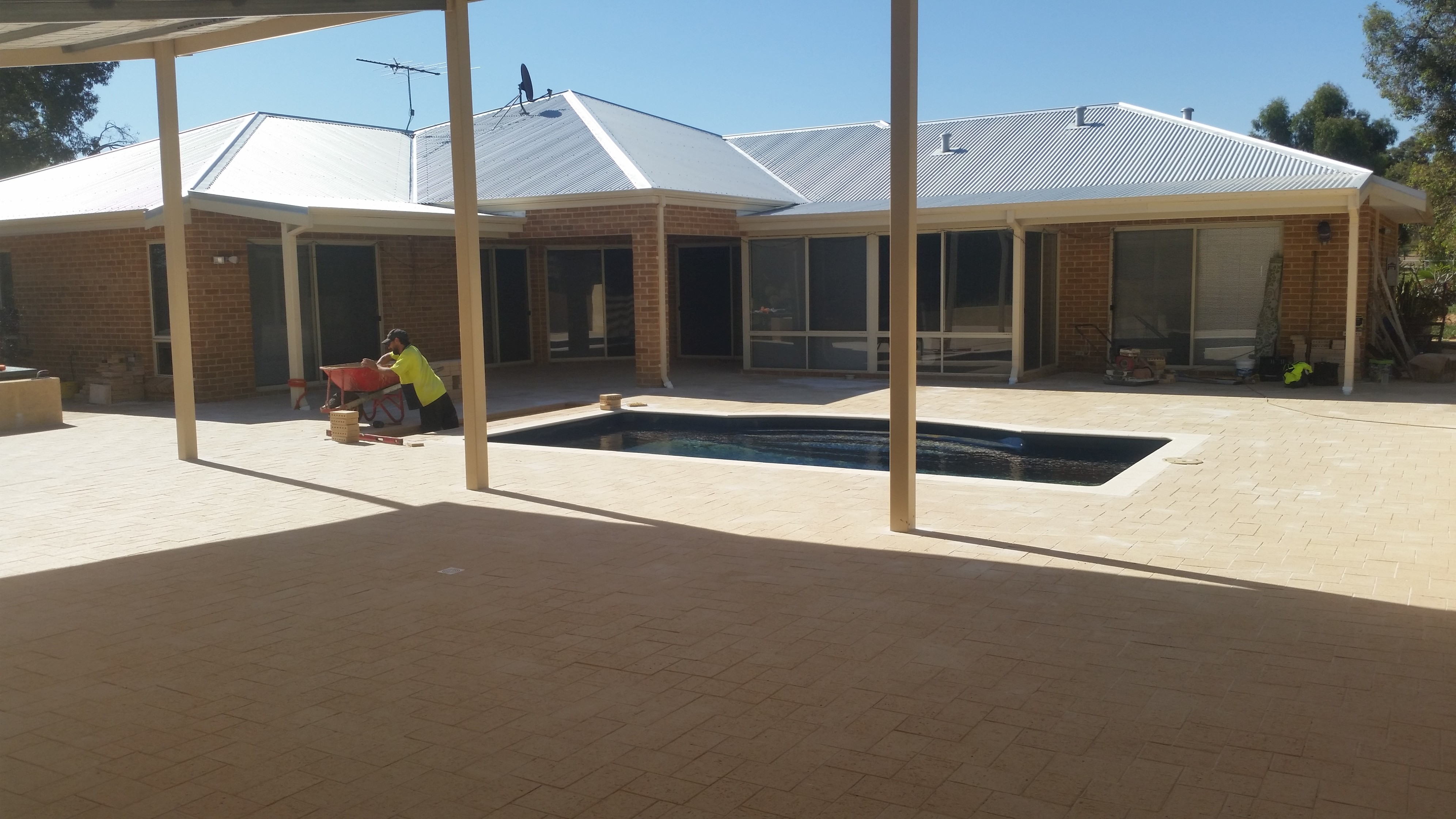 Domestic Paving www.boostpropertyservices.com.au